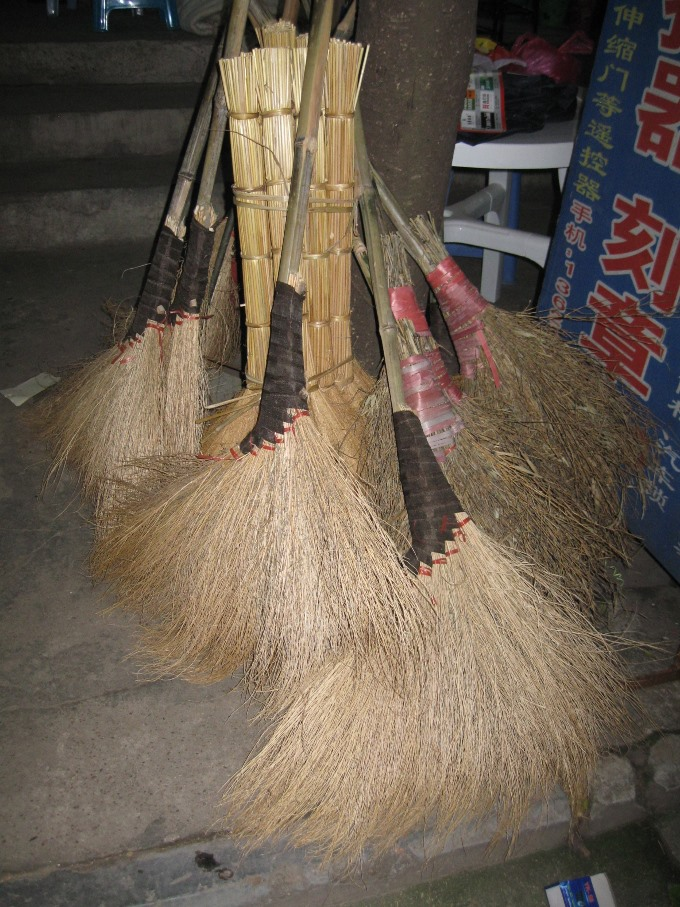 Broom in Wuyi town SMALL