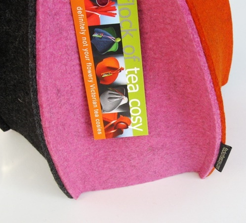 Introduction to Flock of Tea Cosy's modern tea cosies and tea cozies