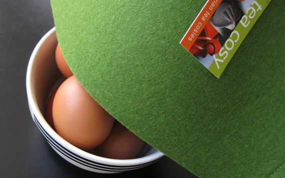 New Year's egg cosy…