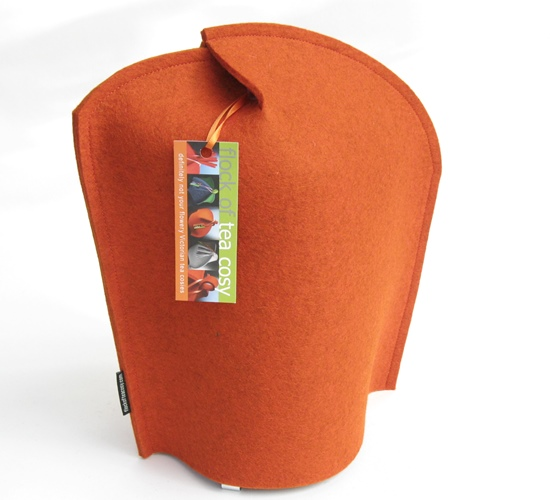 New coffee cozy design -- modern and clean from Flock of Tea Cosy