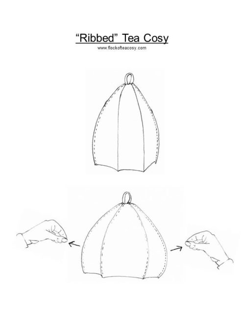 A how-to for flock of tea cosy's smart expandable tea cosy