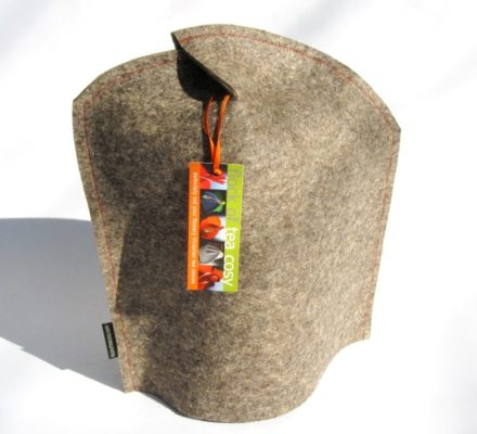 Modern Coffee Press Cosy Neu in Industrial Wool Felt