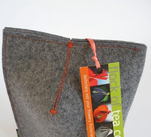 Modern Mug Cosy 16oz in Industrial woolfelt