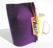 Modern Mug Cosy Purple