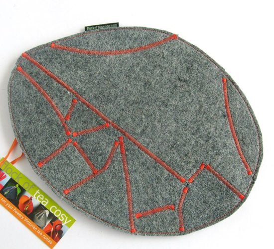 Handmade modern eco design recycle mousepad