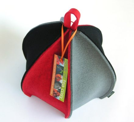 Ribbed Modern Tea Cosy Expandable