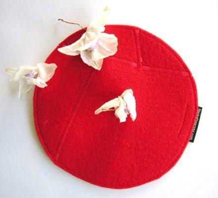 Trivet Medium Red B