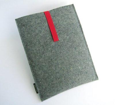 SALE tablet sleeve in industrial wool felt