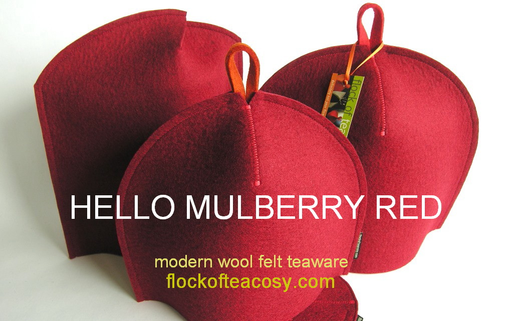 New color: Mulberry Red